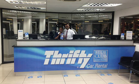 thrifty location de voiture porto airport portugal